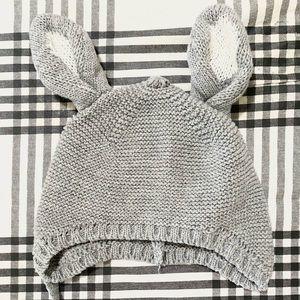 Newborn Baby Bunny Crochet Hat